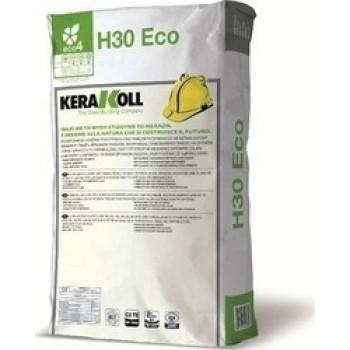 H30 GEL 25kg GEL Λευκή κόλλα πλακιδίων & φυσικών λίθων