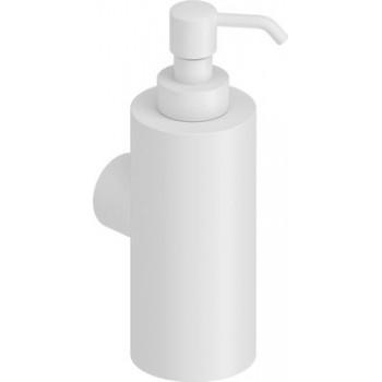 Dispenser  Υγρού Σαπουνιού Λευκό ματ  Μέταλλο Verdi Lamda 3011001