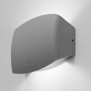 Απλίκα Φωτιστικό Τοίχου ABRAM 150 μαύρο λευκό ή γκρι Fumagalli