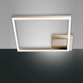 Φωτιστικό Οροφής - Πλαφονιέρα Led Bard 3394-61-225 Gold Fabas Luce