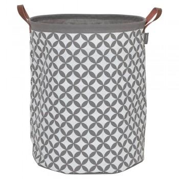 ΚΑΛΑΘΙ ΑΠΛΥΤΩΝ Diamonds laundry bag grey 50×40