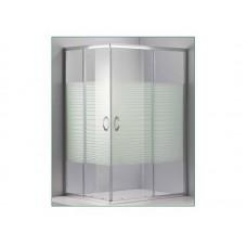 Παραλληλόγραμμη  καμπίνα  DORA ΓΡΑΜΜΕΣ 120x80x1,80 ύψος
